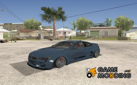 2014 BMW M4 Liberty Walk для GTA San Andreas