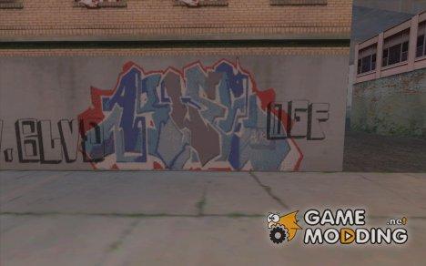 Лос-Сантос город граффити легенд v1 для GTA San Andreas