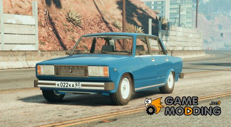 VAZ-2105 (Lada Nova/Riva) for GTA 5