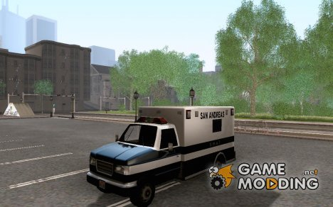 SWAT Truck for GTA San Andreas
