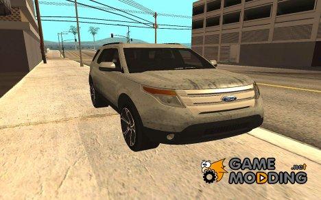 Ford Explorer V2 2013 for GTA San Andreas