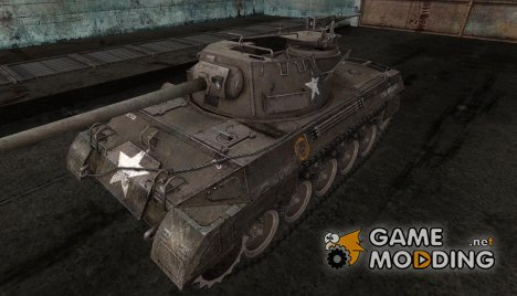 Шкурка для M18 Hellcat for World of Tanks