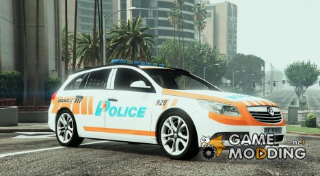 Vauxhall Insigna Swiss - GE Police for GTA 5