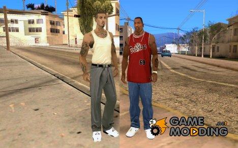 Переключатся между персонажами for GTA San Andreas