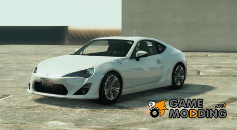 Toyota GT-86 Tunable 1.6 for GTA 5