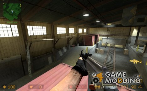 chrome ak-101 sig mix для Counter-Strike Source