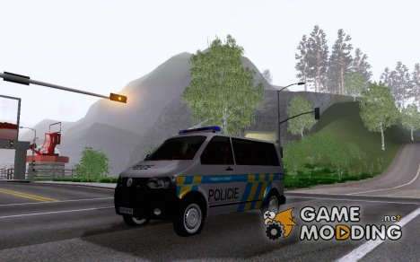 Volkswagen Transporter Policie для GTA San Andreas