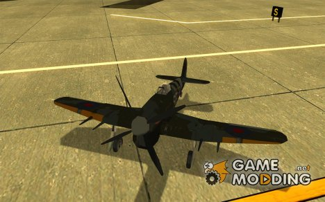 Hawker Typhoon для GTA San Andreas