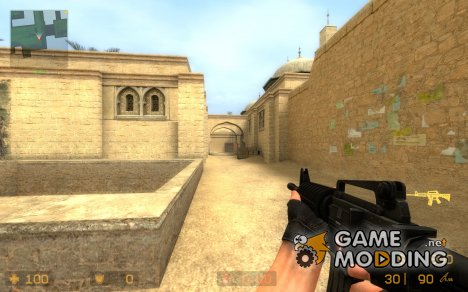 Umbrella Cooporation M4A1 for Counter-Strike Source