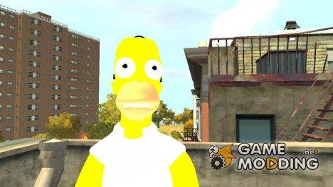 Гомер Симпсон для GTA 4