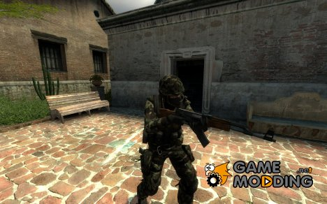 Woodland camo urban для Counter-Strike Source