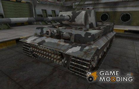 Шкурка для немецкого танка PzKpfw VI Tiger for World of Tanks