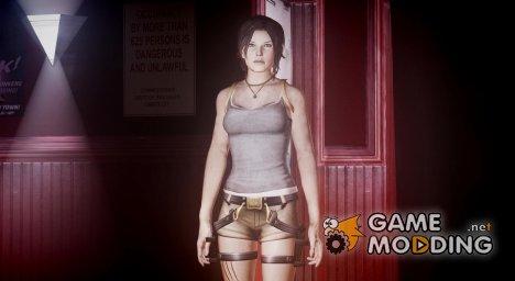 Tomb Raider 2013 Lara Croft Classic для GTA 4