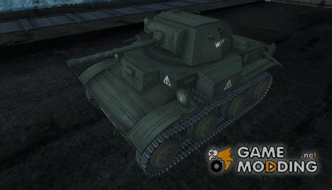 Шкурка для Tetrarch Mk.VII для World of Tanks