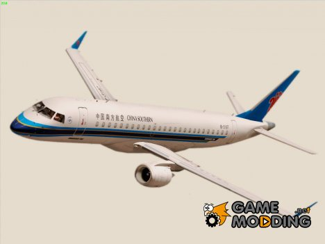 Embraer ERJ-190 China Southern Airlines для GTA San Andreas