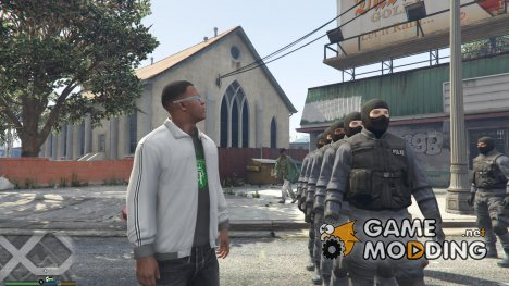 SWAT Team for GTA 5