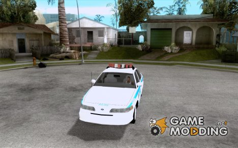 Ford Crown Victoria 1992 NYPD для GTA San Andreas