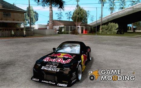 Mazda RX7 Madmikes Redbull для GTA San Andreas