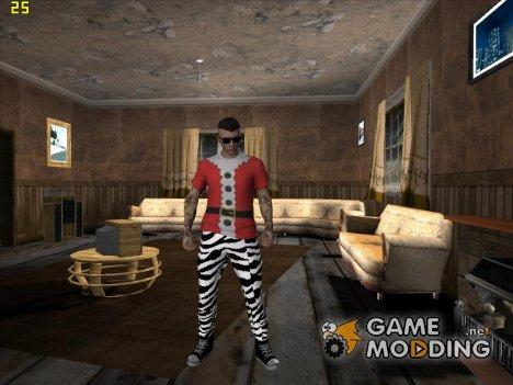 Skin GTA V Online HD в костюме for GTA San Andreas