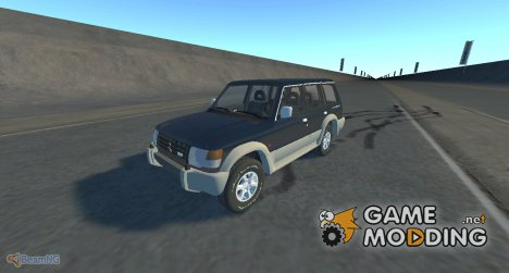 Mitsubishi Pajero 1993 for BeamNG.Drive