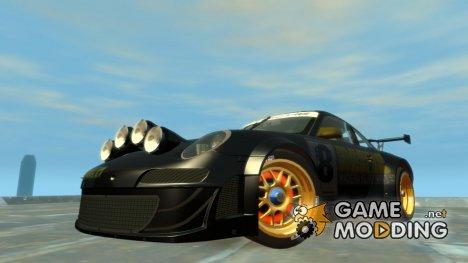 Porsche Rallye Vespas 911 GT3 RSR для GTA 4