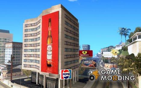 San Andreas Billboards v1.3 для GTA San Andreas