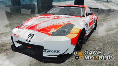 Nissan 350Z JGTC Motul Pitwork for GTA 4