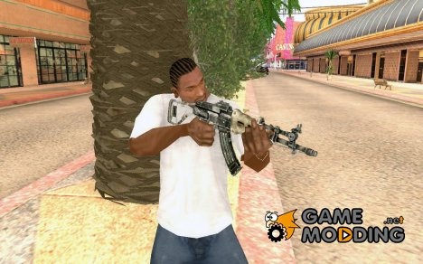 FallOut-Chinese Assault Rifle для GTA San Andreas