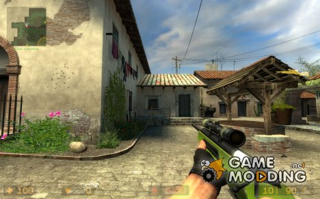 Wtf Green Scout Sniper v0.5 for Counter-Strike Source