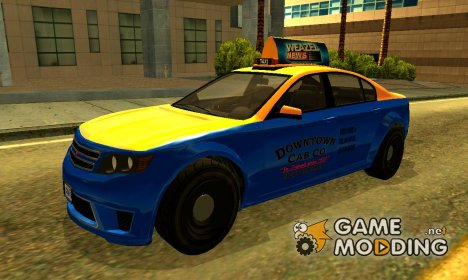 Cheval Fugitive: Downtown Cab Co для GTA San Andreas
