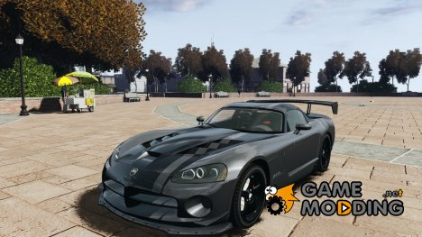 Dodge Viper SRT-10 ACR 2009 v2.0 для GTA 4
