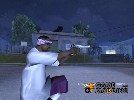 Deagle realistic weapon sound для GTA San Andreas