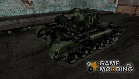Pershing от daletkine для World of Tanks