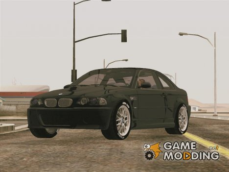 BMW M3 CSL (E46) for GTA San Andreas