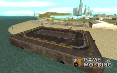 Новый трек для дрифта for GTA San Andreas