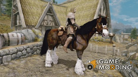 A Clydesdale Named Boxer for TES V Skyrim