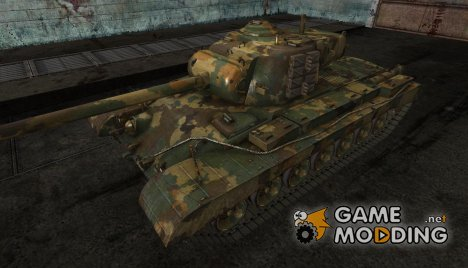 Шкурка для T32 Temperate Ghost for World of Tanks