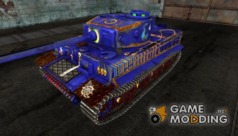 "Шкурка для PzKpfw VI Tiger ""Thousand Sons"" for World of Tanks"