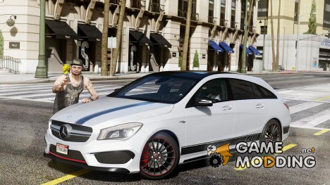 Mercedes-Benz CLA 45 AMG Shooting Brake 1.7 для GTA 5