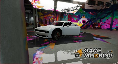 Dodge Challenger Hellcat for GTA 5