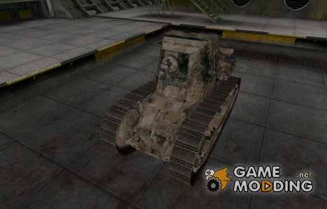 Французкий скин для Renault FT 75 BS для World of Tanks