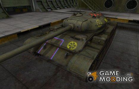 Контурные зоны пробития Т-54 для World of Tanks