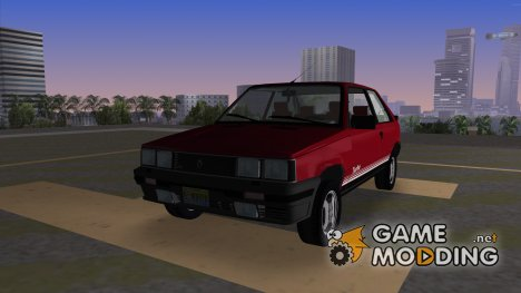 Renault 11 Turbo Coupe для GTA Vice City
