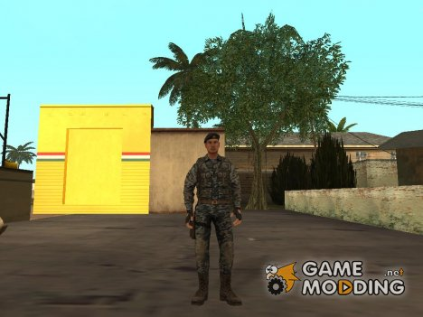 Rogue Warrior Russian для GTA San Andreas