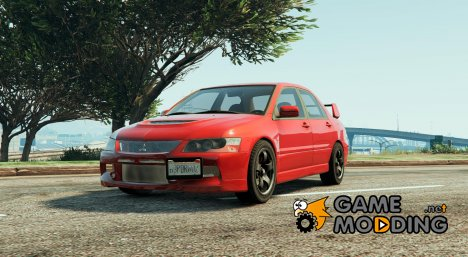 Mitsubishi Lancer Evolution IX MR для GTA 5