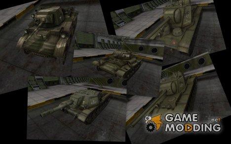 Отличный пак советской техники для World of Tanks