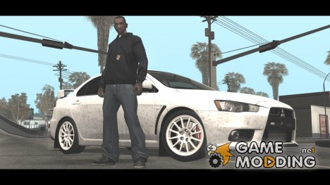 Новая одежда CJ'я в начале игры for GTA San Andreas