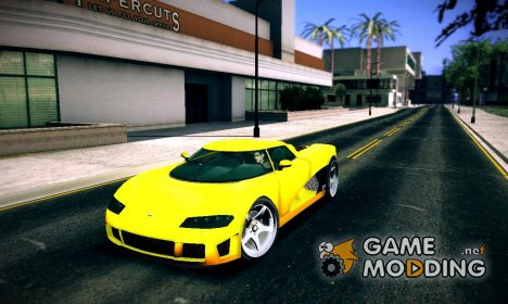 Entity XF из GTA V для GTA San Andreas