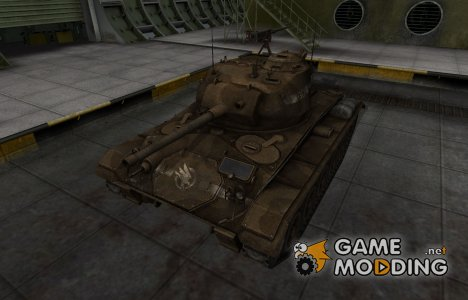 Скин в стиле C&C GDI для M24 Chaffee for World of Tanks