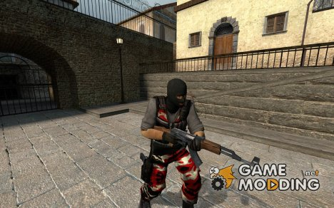 Red Camo for Counter-Strike Source